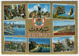 LIBAN/LEBANON - MODERN BEIRUT/BEYROUTH MODERNE - GENERAL VIEWS (KRUGER 987/210) - Libano