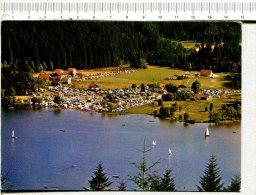 GERARDMER -  Le Lac, Le Camping De RAMBERCHAMP Et Le  Stade Vus Du Chemin Des Fourmis - Gerardmer