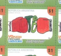 YO PUEDO FRENAR LA TUBERCULOSIS TBC KOCH - REPUBLICA ARGENTINA MNH TBE - Argentina