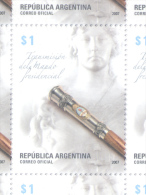 TRANSMISION DEL MANDO PRESIDENCIAL REPUBLICA ARGENTINA AÑO 2007 MNH TBE - Argentine