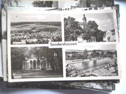 Duitsland Deutschland DDR Thüringen Sondershausen - Sondershausen