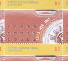50 AÑOS DE A.R.P.A. ASOCIACION RADIODIFUSORAS PRIVADAS ARGENTINA 1958-2008 MNH TBE - Unused Stamps