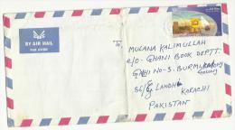 Qatar  2001  Postal Used Cover Doha To Pakistan Ship - Qatar