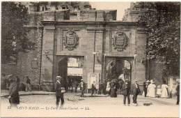 FRANCE - SAINT-MALO Ca 1910. La Porte Saint-Vincent. Carte Edition Levy Fils Et Cie. # 35 - Saint Malo