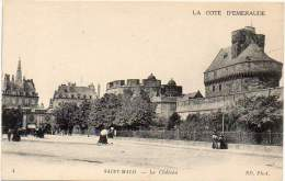 FRANCE - SAINT-MALO Ca 1910. Le Château. Carte Edition Neurdein Et Cie. # 4 - Saint Malo