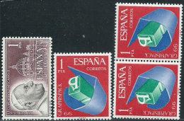 Spagna 1962/6 Nuovo** - Mi.1375; 1597x3  Yv.1147; 1366x3 - 1931-Oggi: 2. Rep. - ... Juan Carlos I