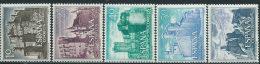 Spagna 1966 Nuovo** - Mi.1627/31  Yv.1393/7  Non Completa - 1931-Oggi: 2. Rep. - ... Juan Carlos I