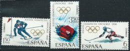 Spagna 1968 Nuovo** - Mi.1735/7  Yv.1504/6 - 1931-Oggi: 2. Rep. - ... Juan Carlos I