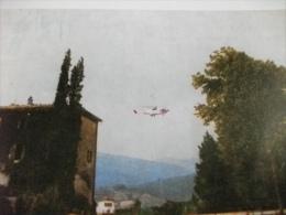 Elicottero  In Volo Helicopters Castello Di Sorci Anghiari Arezzo - Hubschrauber