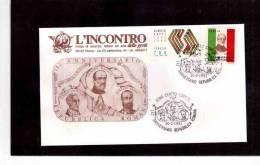 TEM1442  -  142° ANNIVERSARIO REPUBBLICA ROMANA  /  ROMA 30.3.1991 - Non Classés