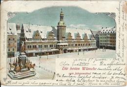 Allemagne ,  LEIPZIG -  DIE BESTEN WUNSCHE   ( état, Voir Le  Verso) - Leipzig