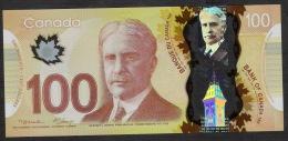 CANADA NLP 100 DOLLARS 2011 Polymer Issued 14.11.2011  Prefix EKP  UNC. - Kanada