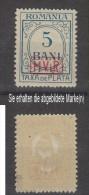 Militärverwaltung In Rumänien,Portomarken 1,xx,gep. (3640) - Besetzungen 1914-18