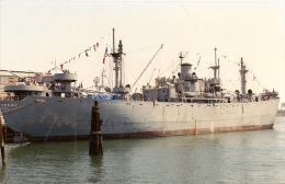"LIBERTY SHIP Restauré "" USS JOHN BROWN "" US Navy - Warships"