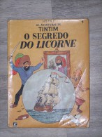 @ BANDE DESSINEE BD HERGE, AS AVENTURAS DE TINTIM, O SOGREDO DO LICORNE ( TINTIN ), DISTRIBUIDORA RECORD, RIO DE JANEIRO - BD (autres Langues)