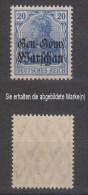 Dt.Post Polen,13c,xx,gep. (3640) - Besetzungen 1914-18