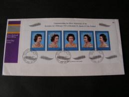 == 1977 Cv. NZ Queen - Blocks & Kleinbögen