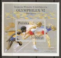 FILATELIA - POLONIA 1992 - Yvert #H128 - MNH ** - Exposiciones Filatélicas