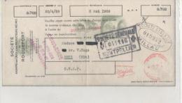 TRAITE DES CAVES DE ROQUEFORT SOCIETE à ROQUEFORT SUR SOUZON (AVEYRON) 1959 - Levensmiddelen