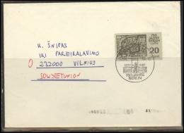 GERMANY Deutschland D DDR Brief 0257 BERLIN Special Cancellation Postal History City Anniversary - [6] République Démocratique