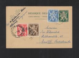 Belgien GSK 1946 Nach Tschechoslowakei - Belgien