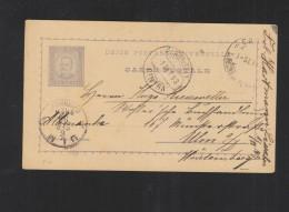 Belgien GSK 1946 Nach Tschechoslowakei - Postal Stationery