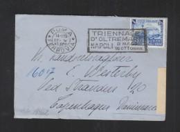 Italia Lettera 1940 Censura - 1900-44 Victor Emmanuel III.