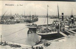 CPA Alexandrie, Le Port, Nombreux Bateaux - Alexandrie