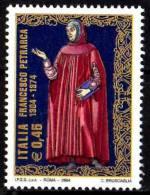 PIA - ITALIA - 2004 : 700° Della Nascita Di Francesco Petrarca    - (SAS  2746) - 2001-10:  Nuovi