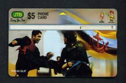 BRUNEI - Optical Phonecard As Scan - Brunei