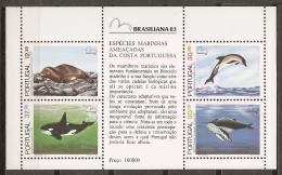 BALLENAS - PORTUGAL 1983 - Yvert #H42 - MNH ** - Ballenas