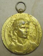 1928 Médaille  Bordeaux Grand Concours International De Musique Sculpteur L.OMattei Voir Poinçons Diam 4.5cm 35gr - France