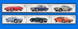 GB 2013-0028, British Auto Legends, Set Of 6 MNH Stamps - 1952-.... (Elizabeth II)