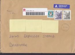Norway A Prioritaire Par Avion Label Registered Recommandée Einschreiben STAVERN 2006 Cover Brief Olav 20 & 50 Kr Stamps - Briefe U. Dokumente