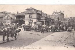 London. Londres. Covent Garden Market. Attelages. - Otros