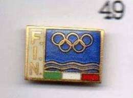 Pq1 Pins FIN Federazione Italiana Nuoto Club - Nuoto