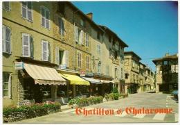 CHATILLON Sur CHALARONNE Ville Fleurie Boulangerie Photographe (Cellard) Ain (01) - Châtillon-sur-Chalaronne