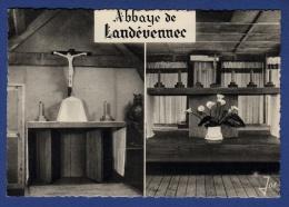 29 LANDEVENNEC Autels Provisoires Abbaye St Guénolé, Autel De La Grange, Autel Chapelle-baraque 2 Vues - Landévennec