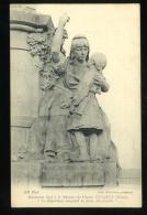 Paris 11e Monument élevé à La Mémoire De Charles Floquet Datail La République éduquant La Jeune Démocratie Descomps - District 11