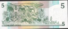 PHILIPPINES P178a 5 PISO 1990  Prefix YS     UNC. - Philippines