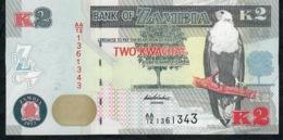 ZAMBIA   NLP   2   KWACHA   2012    Serie AA      UNC. - Zambia