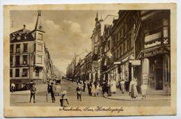 Allemagne--NEUNKIRCHEN---1919-- Huttenbergstrasse (très Animée) N° 220549 éd Kunst--belle Carte - Kreis Neunkirchen