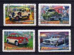 Australia - 1997 - Classic Cars (Perf 11½) - Used - Oblitérés