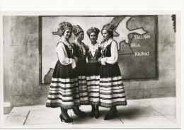Exposition Internationale De Paris 1937 Estonie Costumes Tallin Riga Kaunas - Estonie