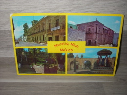 Mexico - Aspects Of Morelia, Mich. Mex. - Multi Views - Mexiko