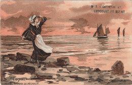 La Mer, L'attente Du Pêcheur - Collection Du Chocolat De Royat - Costumes