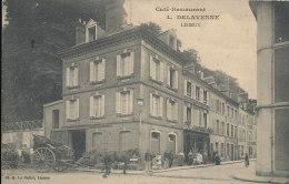 N N 545 /C P A - LISIEUX      (14)  CAFE RESTAURANT L. DELAVENNE - Lisieux