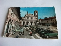 Taxi Auto Car Vespa Moto Piazza Ducale E La Cattedrale Vigevano - Taxi & Carrozzelle
