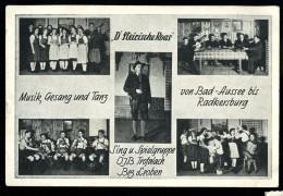 Cpa D' Autriche D' Steirische Roas Musik Gesang Und Tanz , Von Bad - Aussee Bis Radkersburg    6ao35 - Autriche
