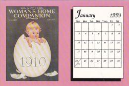 January 1993 Limited Editon Calendar Card - Astronomy